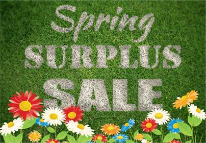 Spring Surplus Sale